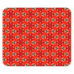 Lovely Orange Trendy Pattern  Double Sided Flano Blanket (Small)