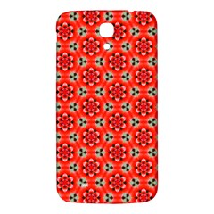 Lovely Orange Trendy Pattern  Samsung Galaxy Mega I9200 Hardshell Back Case