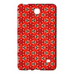 Lovely Orange Trendy Pattern  Samsung Galaxy Tab 4 (8 ) Hardshell Case