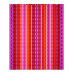 Orange Tribal Aztec Pattern Shower Curtain 60  X 72  (medium)
