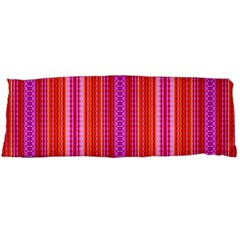 Orange Tribal Aztec Pattern Body Pillow Cases (dakimakura)