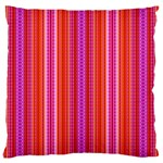 Orange tribal aztec pattern Large Cushion Cases (One Side)  Front