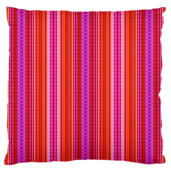 Orange tribal aztec pattern Large Cushion Cases (One Side)