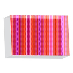 Orange tribal aztec pattern 4 x 6  Acrylic Photo Blocks