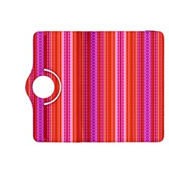 Orange tribal aztec pattern Kindle Fire HDX 8.9  Flip 360 Case