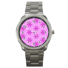 Cute Pretty Elegant Pattern Sport Metal Watches