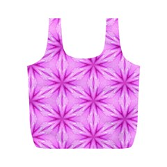 Cute Pretty Elegant Pattern Full Print Recycle Bags (m)