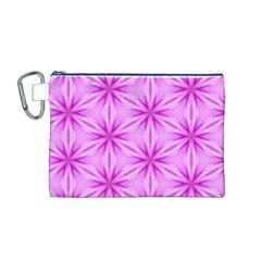 Cute Pretty Elegant Pattern Canvas Cosmetic Bag (M)