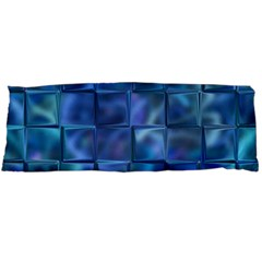 Blue Squares Tiles Body Pillow Cases Dakimakura (two Sides)