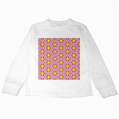 Cute Pretty Elegant Pattern Kids Long Sleeve T Shirts