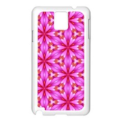 Cute Pretty Elegant Pattern Samsung Galaxy Note 3 N9005 Case (white)