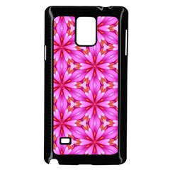 Cute Pretty Elegant Pattern Samsung Galaxy Note 4 Case (Black)
