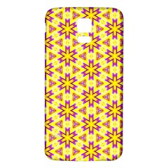 Cute Pretty Elegant Pattern Samsung Galaxy S5 Back Case (white)