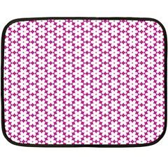 Cute Pretty Elegant Pattern Fleece Blanket (Mini)