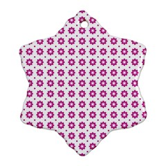 Cute Pretty Elegant Pattern Ornament (snowflake)