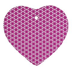 Cute Pretty Elegant Pattern Ornament (heart)