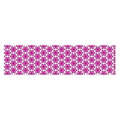 Cute Pretty Elegant Pattern Satin Scarf (oblong)