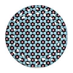 Cute Pretty Elegant Pattern Ornament (Round Filigree)