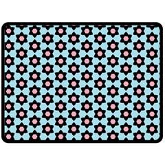 Cute Pretty Elegant Pattern Double Sided Fleece Blanket (Large)