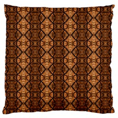 Faux Animal Print Pattern Standard Flano Cushion Cases (two Sides)