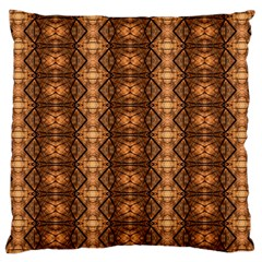 Faux Animal Print Pattern Standard Flano Cushion Cases (One Side)