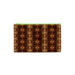 Faux Animal Print Pattern Cosmetic Bag (XS)