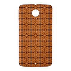 Faux Animal Print Pattern Nexus 6 Case (White)