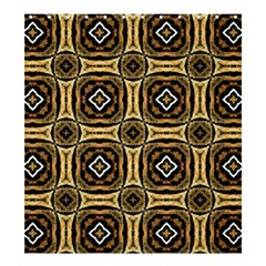 Faux Animal Print Pattern Shower Curtain 66  X 72  (large)