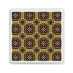 Faux Animal Print Pattern Memory Card Reader (Square)  Front
