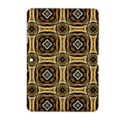 Faux Animal Print Pattern Samsung Galaxy Tab 2 (10 1 ) P5100 Hardshell Case