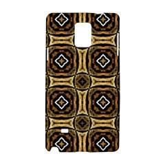 Faux Animal Print Pattern Samsung Galaxy Note 4 Hardshell Case