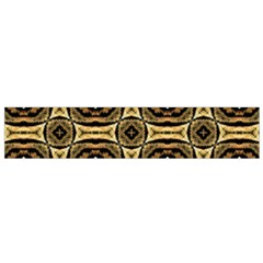 Faux Animal Print Pattern Flano Scarf (Small)