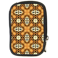 Faux Animal Print Pattern Compact Camera Cases