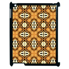 Faux Animal Print Pattern Apple Ipad 2 Case (black)