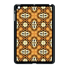 Faux Animal Print Pattern Apple Ipad Mini Case (black)