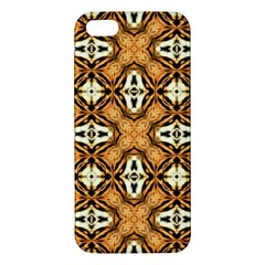 Faux Animal Print Pattern Iphone 5s Premium Hardshell Case