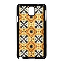 Faux Animal Print Pattern Samsung Galaxy Note 3 Neo Hardshell Case (Black)