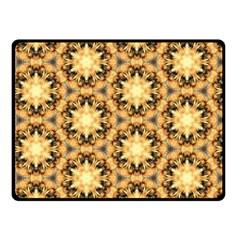 Faux Animal Print Pattern Fleece Blanket (small)