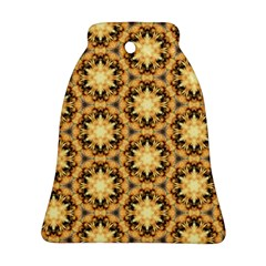 Faux Animal Print Pattern Bell Ornament (2 Sides)