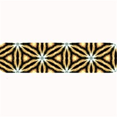 Faux Animal Print Pattern Large Bar Mats