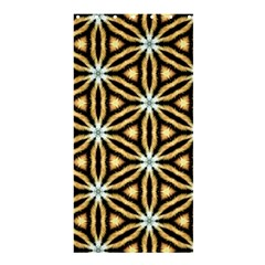 Faux Animal Print Pattern Shower Curtain 36  X 72  (stall)