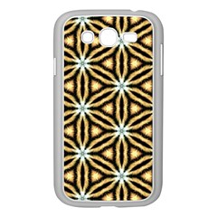 Faux Animal Print Pattern Samsung Galaxy Grand Duos I9082 Case (white)