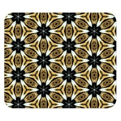 Faux Animal Print Pattern Double Sided Flano Blanket (Small)