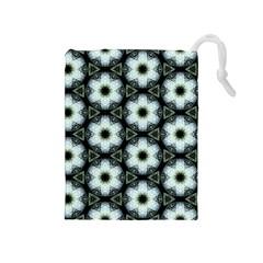 Faux Animal Print Pattern Drawstring Pouches (Medium)