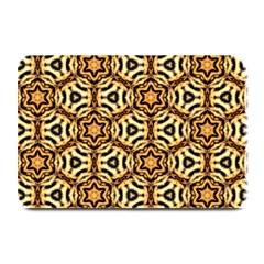 Faux Animal Print Pattern Plate Mats