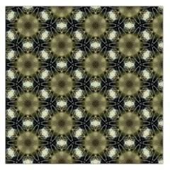 Faux Animal Print Pattern Large Satin Scarf (Square)