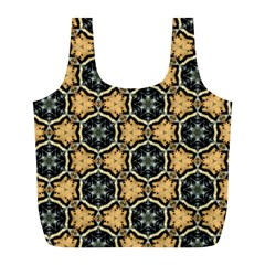 Faux Animal Print Pattern Full Print Recycle Bags (l)