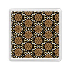 Faux Animal Print Pattern Memory Card Reader (Square)