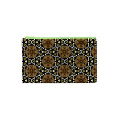 Faux Animal Print Pattern Cosmetic Bag (XS)