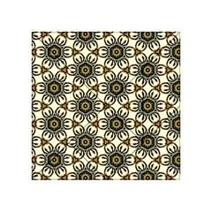 Faux Animal Print Pattern Acrylic Tangram Puzzle (4  x 4 )